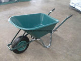 Wheelbarrow popular da roda do ar do armazém do Sell (Wb6414)