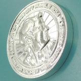 カスタム金属の銀の記念品連合の硬貨(XD-0201)