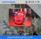Support de pilier fixé au mur et écran extérieur de l'Afficheur LED P10mm de toit