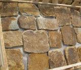 Revêtement normal décoratif de pierre de mur de grès (SMC-FS045)
