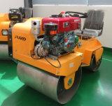 Máquina Vibratory do rolo de estrada da roda de aço mini para a construção de estradas (FYL-850S)