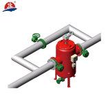 Pression différentielle, filtre en brosse de nettoyage d'individu de la série Jka700 de contrôle de calage