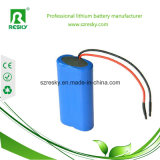 Batterie au lithium 18650 cellule de 2200 heures-milliampère pour l'éclairage LED