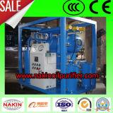 Machine complètement automatique de purification de pétrole de transformateur, usine de déshydratation de pétrole de vide