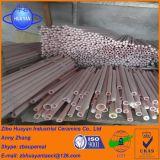 Tubo de cerámica del alúmina del tubo 99.5% del alúmina de alta temperatura refractario 1750c