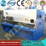 Macchina di taglio della ghigliottina idraulica QC11y-6*3200, tagliatrice del piatto d'acciaio del hardware