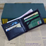 Men를 위한 높은 Quality Chrome Oil Leather Wallet