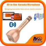 Il microfono senza fili portatile di karaoke, giocatore dell'altoparlante di Bluetooth per musica che gioca cantando nel paese la corsa del partito di KTV esterna, si adatta al Android. di iPhone del Apple