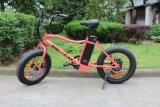 Taille électrique 48V 500W de roue de la bicyclette 20in de pneu de type américain grosse