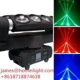 Éclairage de faisceau d'araignée de RGBW DEL pour l'araignée mobile légère principale mobile de faisceau de 8*10W /DMX
