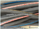 Mangueira de borracha hidráulica de alta pressão trançada do fio de aço de R2at