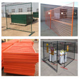 6ft Powder Coated Movable Canadá Temporary Fence Panel