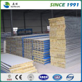 High Strength Wall Rock Wolle Sandwich Panel