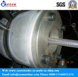 Mangueira do PVC fibra de alta pressão/maquinaria espirais reforçadas extrusora da câmara de ar