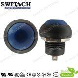 SGS Round Blue Micro Switch Push Button Switch con Spst