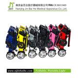Fábrica ligera del sillón de ruedas de la potencia de la aleación de aluminio