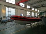 Barca di gomma gonfiabile di alluminio della nervatura del nuovo modello