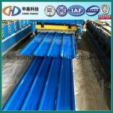 Feuille en acier galvanisée de toiture ridée par qualité de Chine