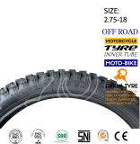 기관자전차는 모터바이크 기관자전차 타이어 기관자전차 타이어 산 타이어 2.75-18를 분해한다