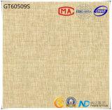 azulejo de suelo gris claro de cerámica de la absorción 1-3% del material de construcción 600X600 (GT60508+60509+60510+60511) con ISO9001 y ISO14000