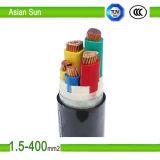 Câble d'alimentation de basse tension avec la gaine de PVC isolée par PVC/XLPE