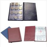 Хранение пенниа 120 держателей монетки Pockets альбом собрания