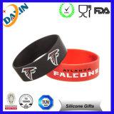 Kundenspezifisches Silikon-Armband/kundenspezifischer SilikonWristband