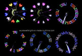 14 изменения светильника 30 света спицы колеса автошины СИД задействуя