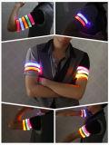 Leopard Imprimir Concierto Partido Luz intermitente LED brazalete brillante