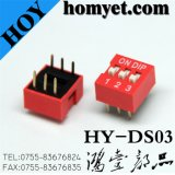 interruptor 3-Digit de alavanca/interruptor do seletor Switch/DIP (HY-DS03)