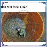 Doublure en acier d'aciérie de doublure de broyeur à boulets d'AAC