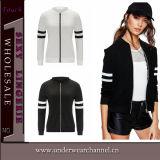 2016의 새로운 디자인 형식 여자 스포츠 착용 폭격기 재킷 (TMK5340)