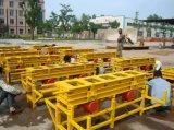 Pavimentando o bloco que faz a máquina (BDZ-50)