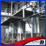 equipamento da refinação de petróleo do farelo de arroz da classe 100tpd primeiro