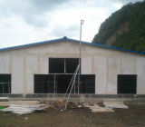 専門デザイン自動Commericalのプレハブの鉄骨構造の家禽のニワトリ小屋
