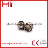 2D Macho de Metirc 24 cones do grau/fêmea métrica 24 cones Joinnings hidráulico do grau da fábrica do adaptador