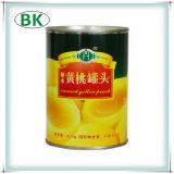 Законсервированный babyfood сиропа персиков