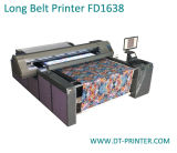 綿の解決が付いているFd1638織物の印字機