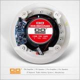 Haut-parleur blanc de Bluetooth de prix usine de plafond de constructeur de la Chine