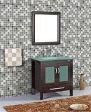 Einfaches Floor Standing PVC Bathroom Vanity mit Mirror (Nanowatt 1037)