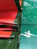 Водоустойчивый лист брезента Китая воинский зеленый пластичный, брезент PE