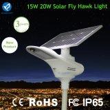 lampada a energia solare di lumen di 15W 2400-2700 con il sensore di movimento
