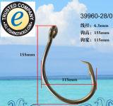 Amo 39960 dell'amo di pesca dell'acciaio inossidabile singolo