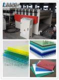 ISO-Qualitätsgarantie-Polycarbonat-Höhlung-Blatt/feste Blatt-Strangpresßling-Zeile
