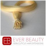 Pelo humano de Remy de las nuevas de la llegada del anillo extensiones nanas del pelo