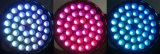 36*18W Rgbaw+UV 6 in 1 LED-Summen-beweglichem Kopf