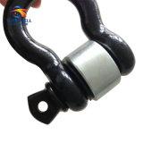 La remorque partie le nécessaire avec la jumelle de proue avec le récepteur d'accroc de rondelle