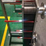 ステンレス鋼のフランジまたは三クランプ接続とのミルクの企業のための版クーラー