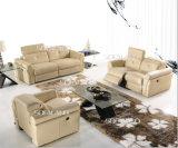 Кожаный софа кресло(714)