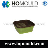 Double Layer Basket Injection Mold Mould / Plástico